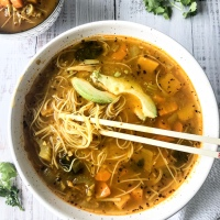 Crockpot Ginger and Turmeric Immune-Boosting Soup