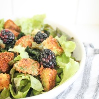 Avocado Croutons