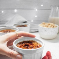 Sweet Potato Creme Brulee (Vegan, GF)