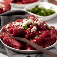 Simple Beetroot Pasta